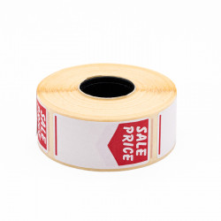 25x51mm Sale Price Labels
