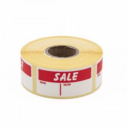 25x51mm Sale Was Now Labels