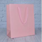 Baby Pink Matt Paper Bags