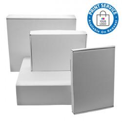 120x85x95mm White Postal Boxes