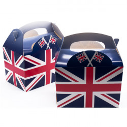 Union Jack Meal Boxes