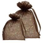 Chocolate Organza Bags