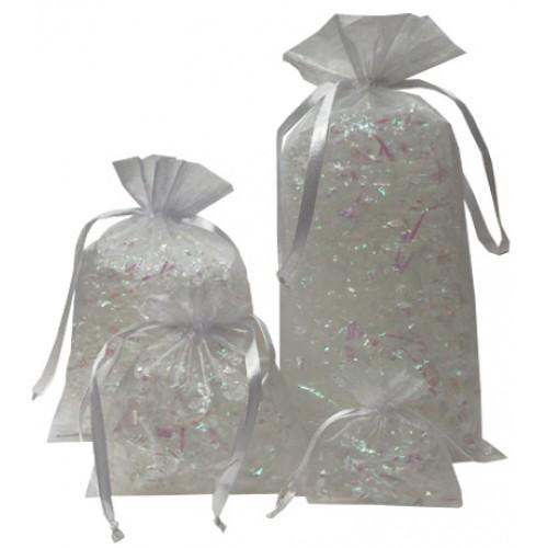 White Organza Bags