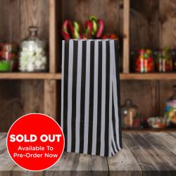 Black White Striped Pick n Mix Paper Bags