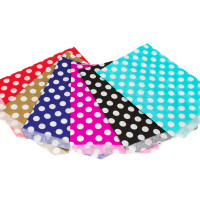 7x9in Polka Dot Paper Bags