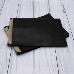 Large Black Satchel Paper Bags