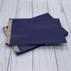 Large Blue Satchel Paper Bags