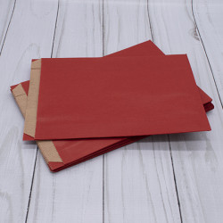 Large Red Satchel Paper Bags