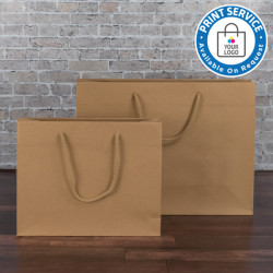 300mm Brown Paper Carrier Bags