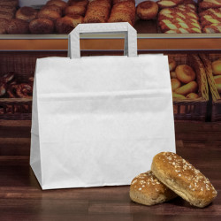 Wide Base Paper Carrier Bags