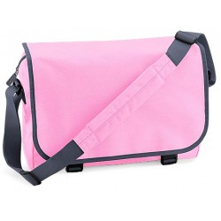 Pink School Messenger Bag