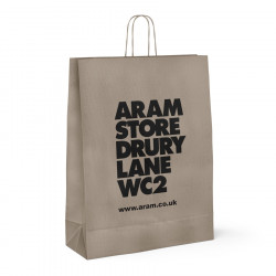 320mm Aram Store Printed Paper Carrier Bags