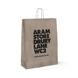 240mm Aram Store Printed Paper Carrier Bags
