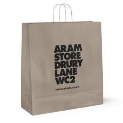 540mm Aram Store Printed Paper Carrier Bags