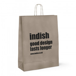 Indish Printed Paper Carrier Bags