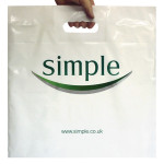 Reinforced Patch Handle Printed Carrier Bags