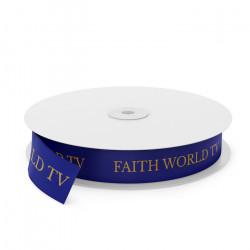 Faith World TV Printed Ribbon