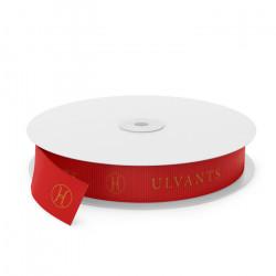 Ulvants (Red) Printed Ribbon