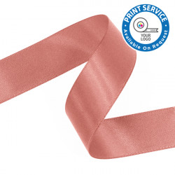 15mm Light Coral Double Faced Satin Ribbon