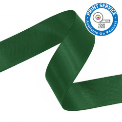 15mm Forest Green Double Faced Satin Ribbon