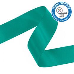 15mm Jade Double Faced Satin Ribbon