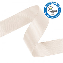 15mm Nude Double Faced Satin Ribbon