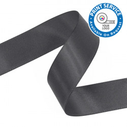 15mm Pewter Grey Double Faced Satin Ribbon