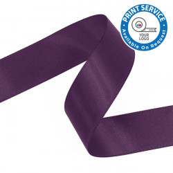 15mm Violet Double Faced Satin Ribbon