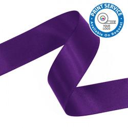 15mm Regal Purple Double Faced Satin Ribbon