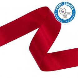 15mm Red Double Faced Satin Ribbon