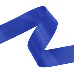 Royal Blue Double Faced Satin Ribbon