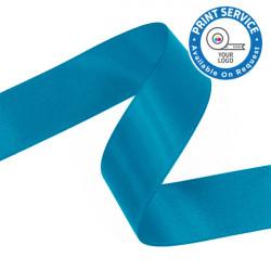 15mm Sea Blue Double Faced Satin Ribbon