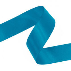Sea Blue Double Faced Satin Ribbon