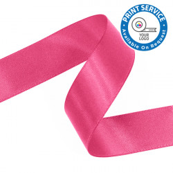 15mm Shocking Pink Double Faced Satin Ribbon