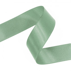 Spearmint Double Faced Satin Ribbon