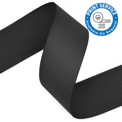 15mm Grosgrain Ribbon Black
