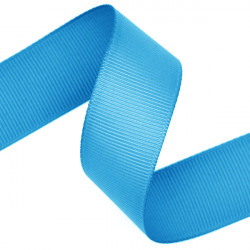 Island Blue Grosgrain Ribbon