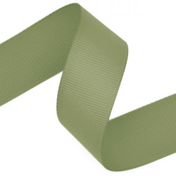 Light Moss Grosgrain Ribbon