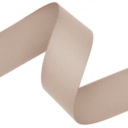 Taupe Grosgrain Ribbon