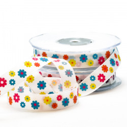 Retro Flower Ribbon