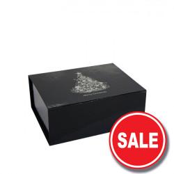 160mm Black Christmas Gift Boxes