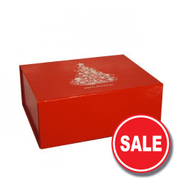 220mm Red Christmas Gift Boxes