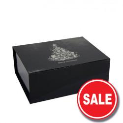 220mm Black Christmas Gift Boxes