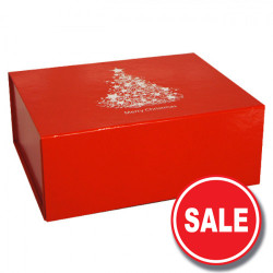 300mm Red Christmas Gift Boxes