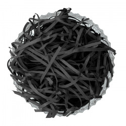 Black Shredded Paper