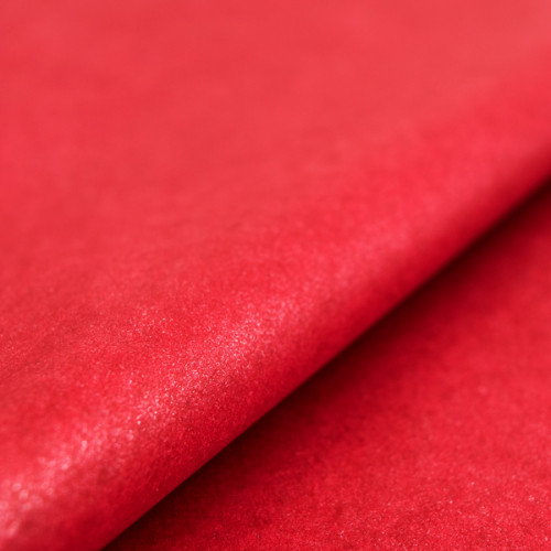 Red Crystalized Tissue Paper
