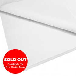Luxury Pure White Tissue Paper