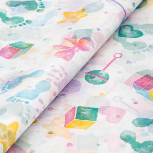 Baby Patterned Tissue Paper