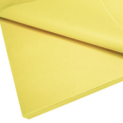 Daffodil Yellow Tissue Paper