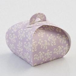 Vintage Mauve Tortina Boxes